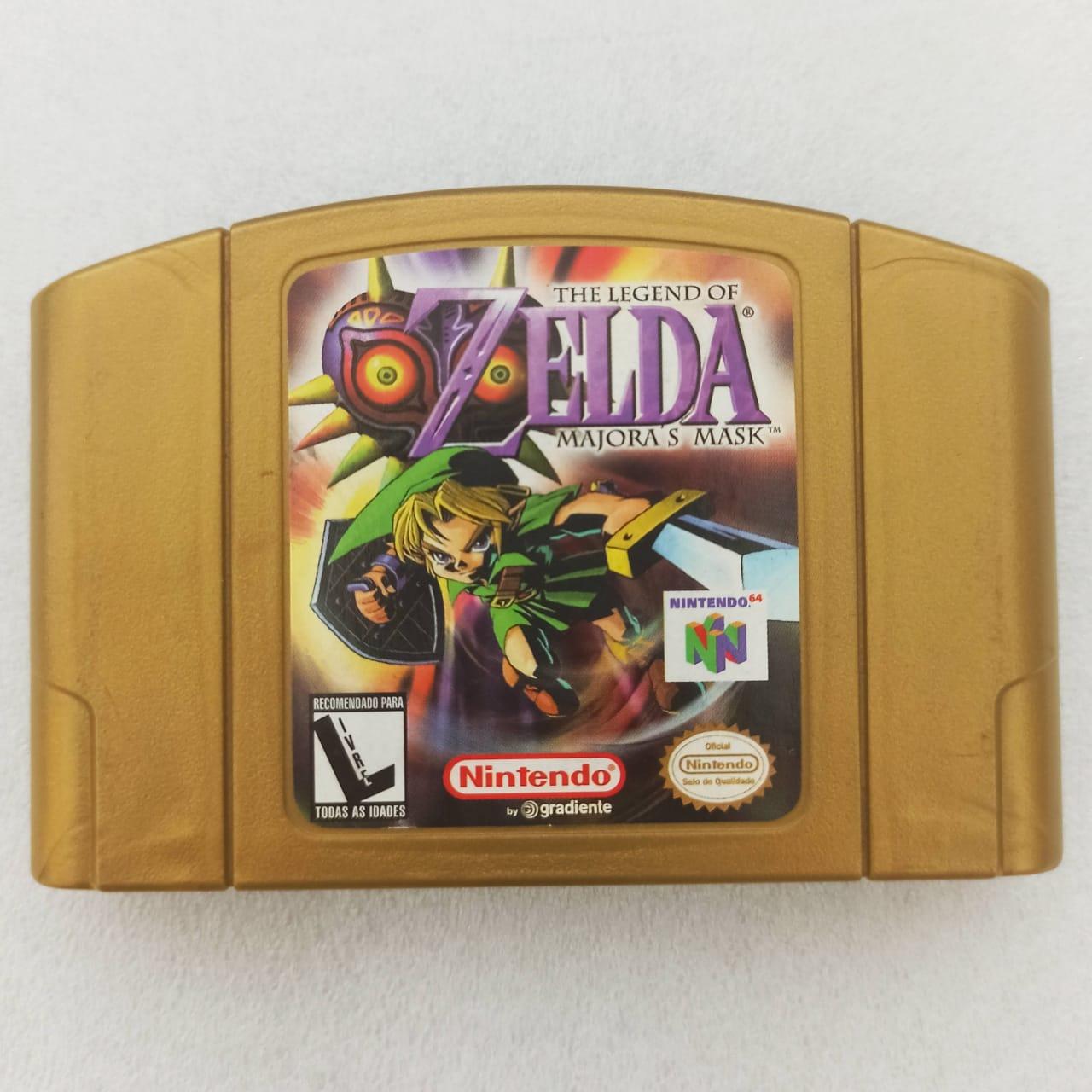 Zelda: Majora's Mask - USADO - Nintendo 64