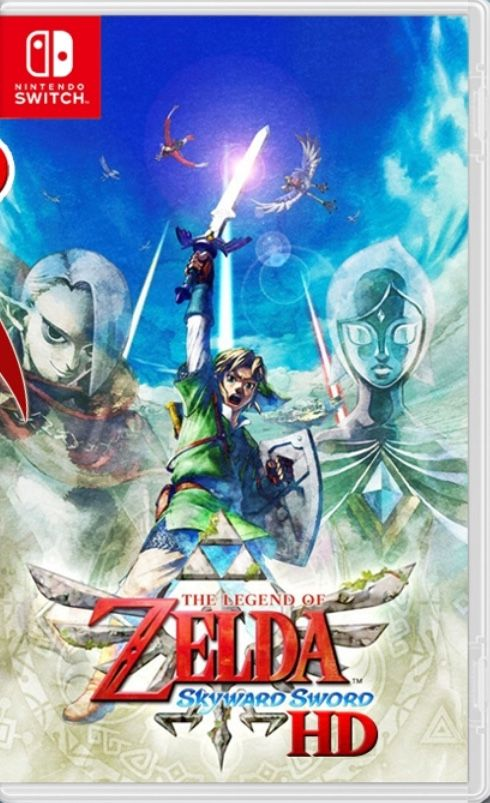 Zelda: Skyward Sword - Nintendo Switch - Pré Venda