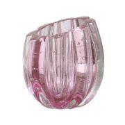 Mini Vaso Murano Marselha Light Rose