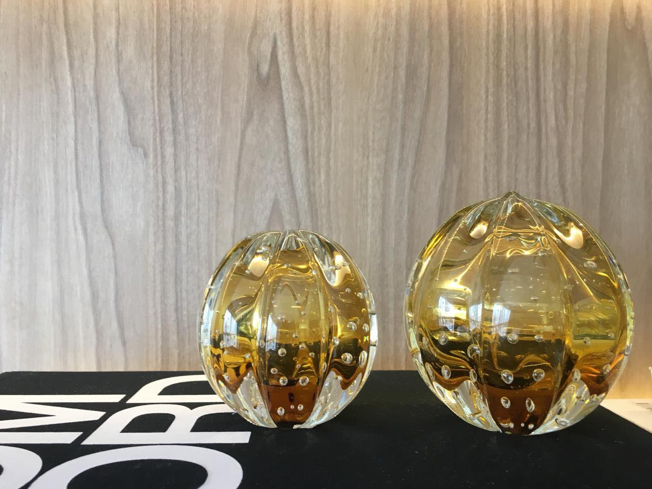 Esferas Murano Senna Âmbar