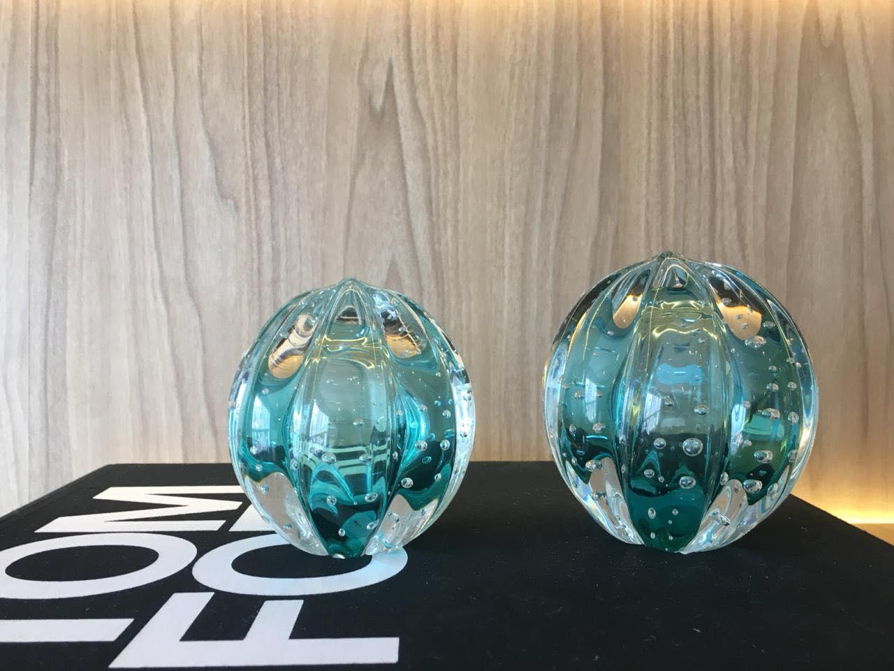 Esferas Murano Senna Esmeralda