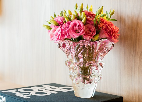 Mini Vaso Murano Huaraz Light Rose