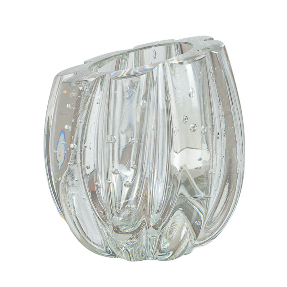 Mini Vaso Murano Marselha Cristal