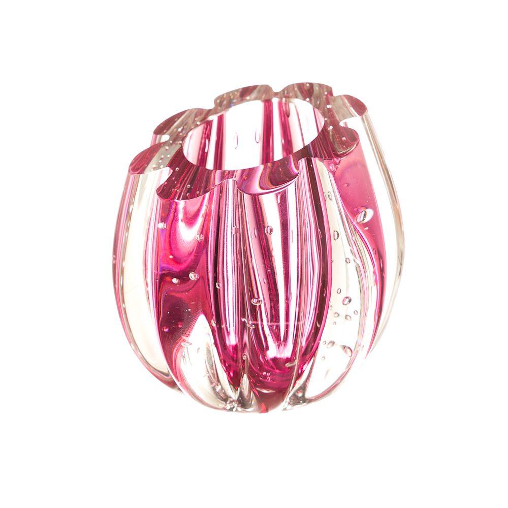 Mini Vaso Murano Marselha Pink