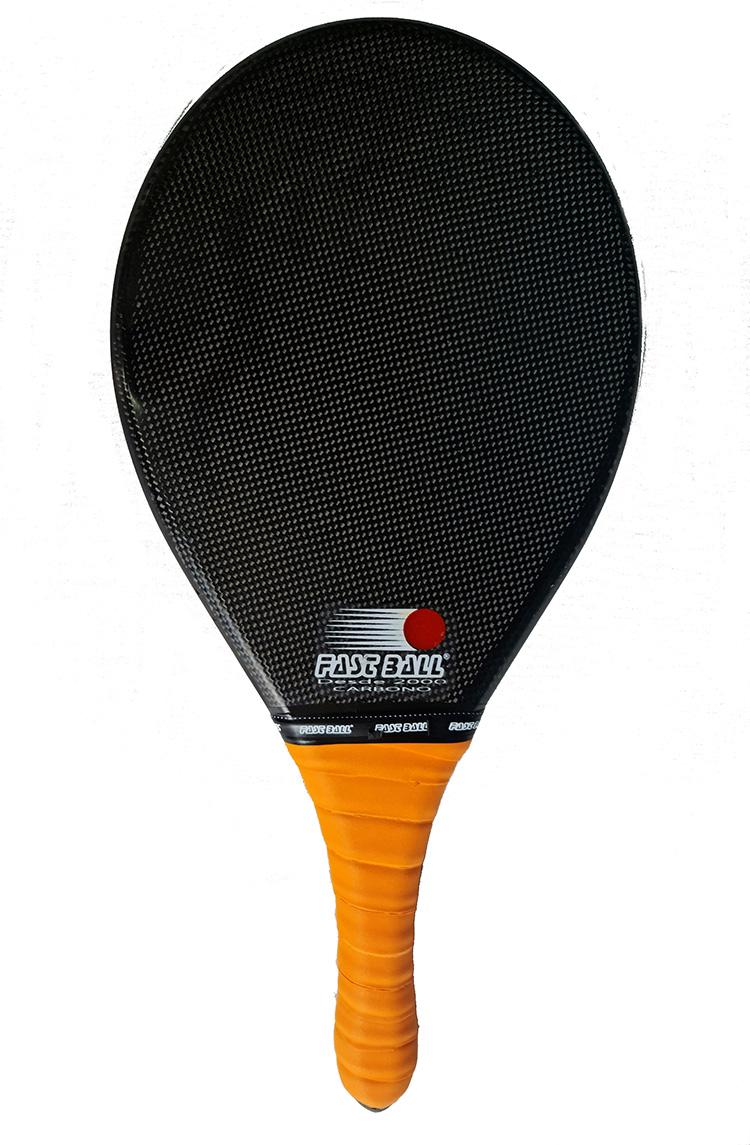 Raquete de Fibra de Carbono para Frescobol Fast Ball Special Edition
