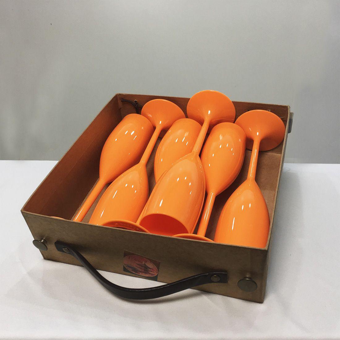 Kit 6 Taças para Champanhe 150ml + Caixa