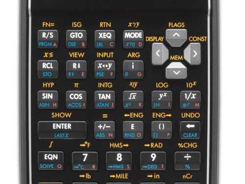Calculadora Cientifica Programavel Hp 35s