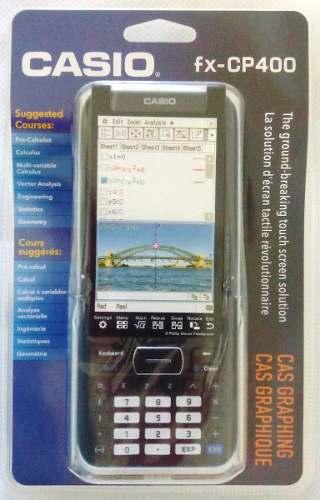 Calculadora Grafica Casio Classpad II Fx-Cp400