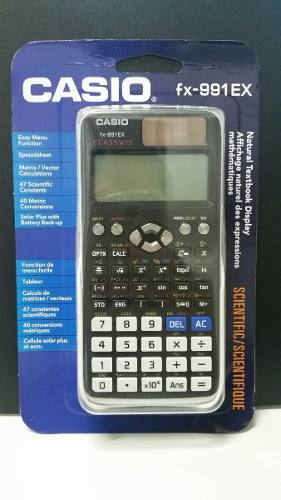 Calculadora Cientifica Casio Fx-991Ex Classwiz