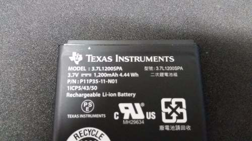 Bateria Original Calculadora Texas Ti-Nspire Cx, Cas, Ti 84