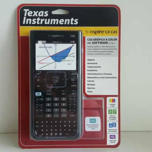Calculadora Gráfica Texas Ti-nspire Cx Cas Kit com Pelicula+Cdmaster