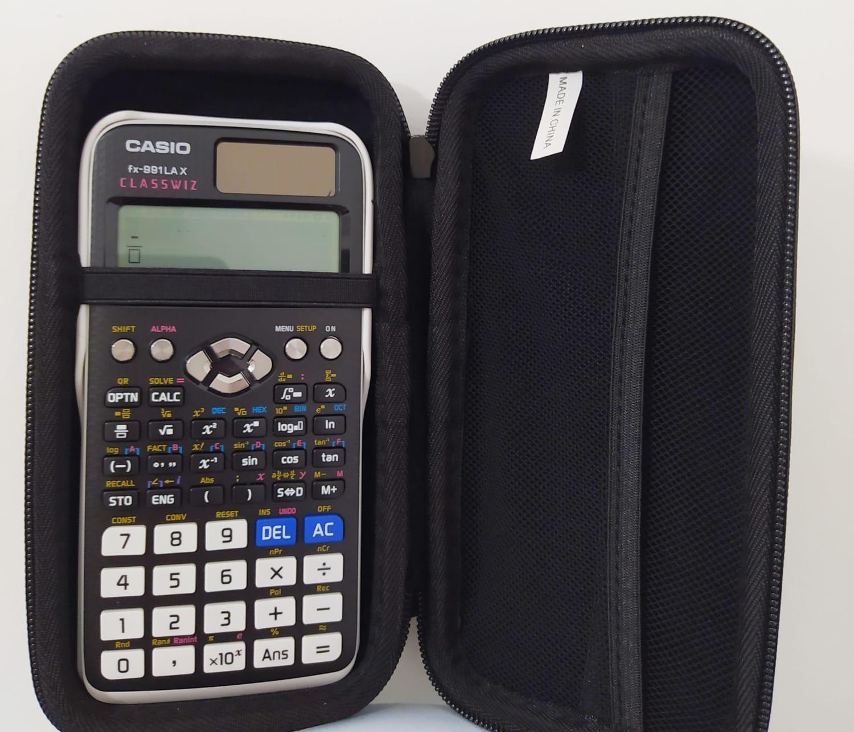 Calculadora Casio Fx-991Lax + Case de Proteção+3 anos de Garantia