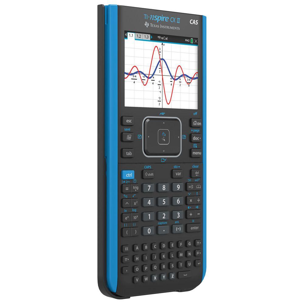 Calculadora Texas Ti-nspire Cx II Cas+case+pelicula+cd Master
