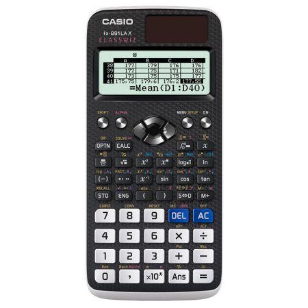 Kit 5 Calculadora Fx-991lax Classwiz 553 Funções - Casio