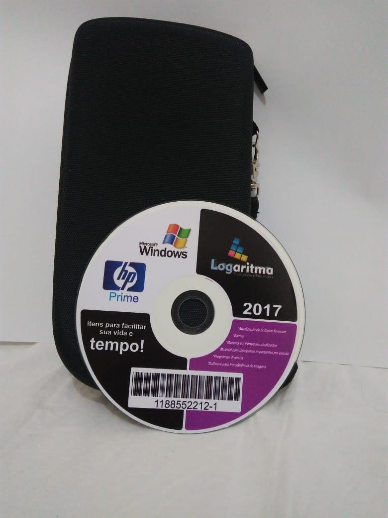 Kit capa para calculadora Hp Prime+cdmaster+Película de Proteção
