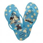 Chinelo Feminino Havaianas Minnie Azul
