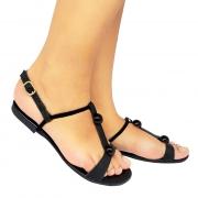 Sandália Super Luxo Napa Preto