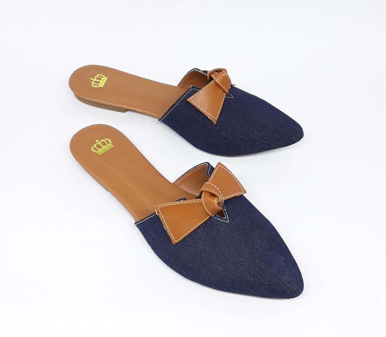 Mule Confort Jeans
