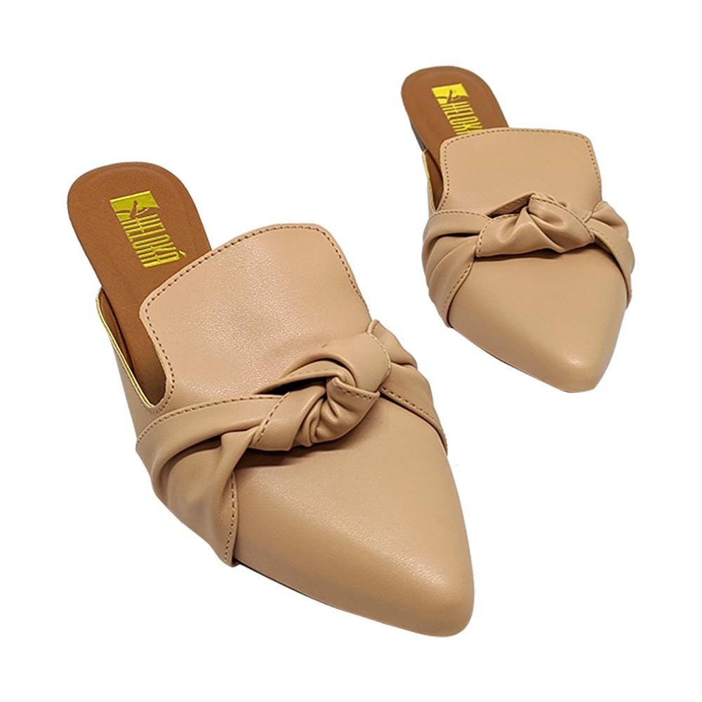 Mule Confort Napa Nude