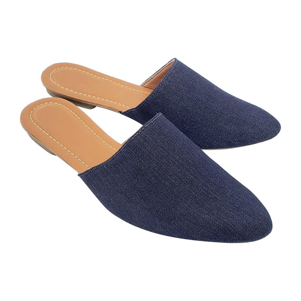 Mule Tradicional  Tecido Jeans