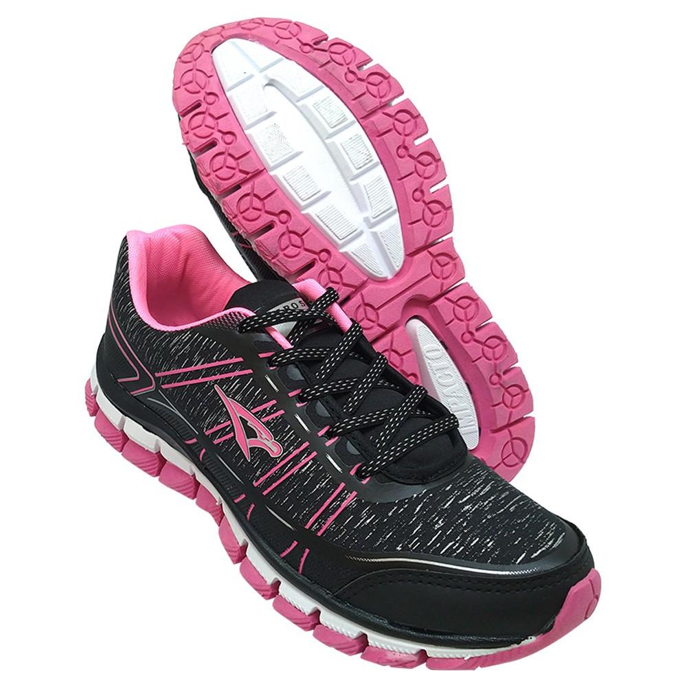 Tênis Aeros Feminino Preto/Pink