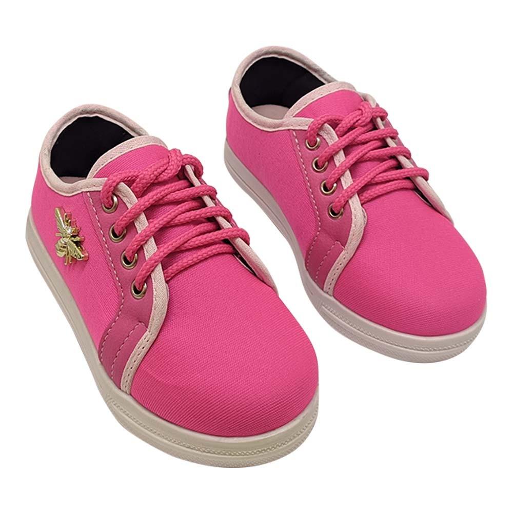 Tênis Infantil Feminino Heloká Pink