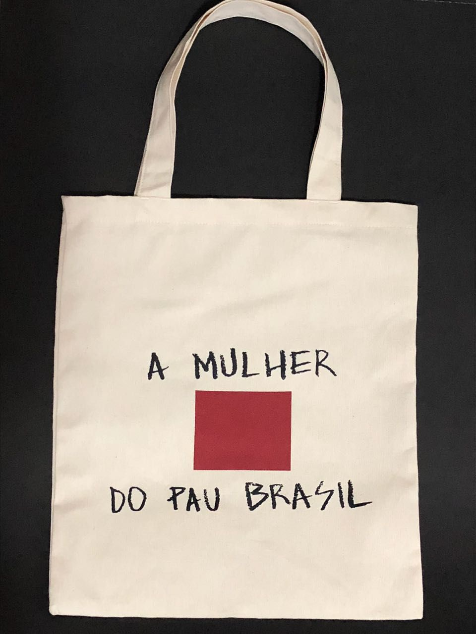 Ecobag A MULHER DO PAU BRASIL