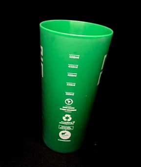 Ecocopo Margem verde fosco