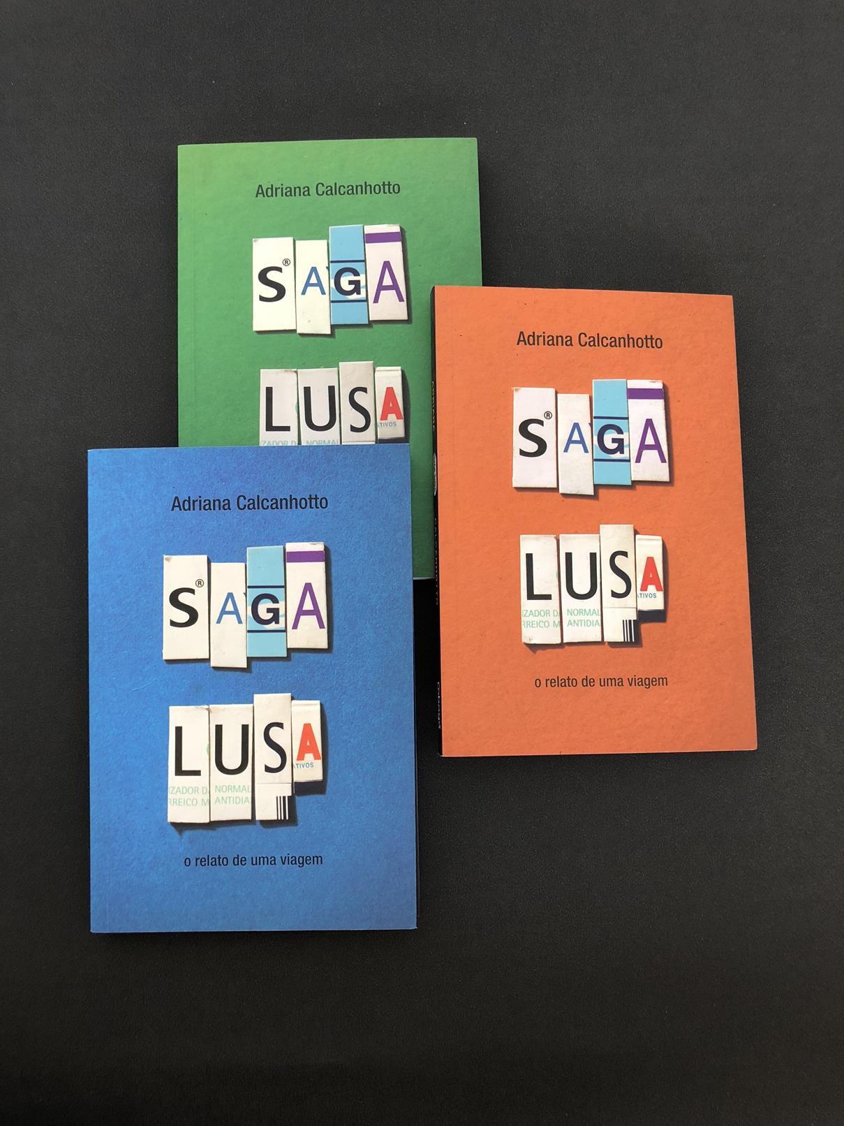 Livro Saga Lusa