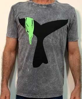 T-shirt  Rabo de Baleia