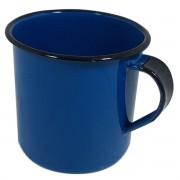 Caneca Esmaltada  Azul 180 ml