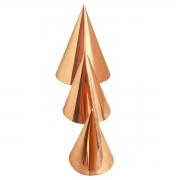 Kit 3 tamanhos Cone de Cobre para Radiestesia e Radiônica