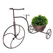 Mini Bicicleta Cachepot Cor Cobreada