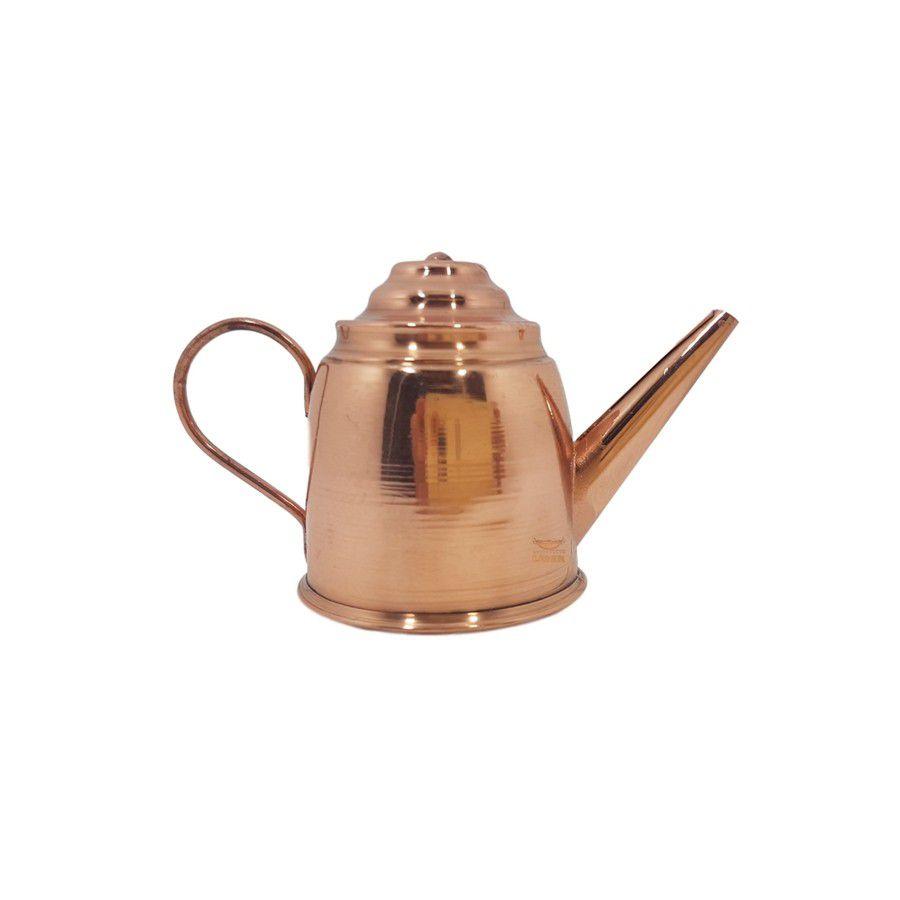 Bule em cobre miniatura