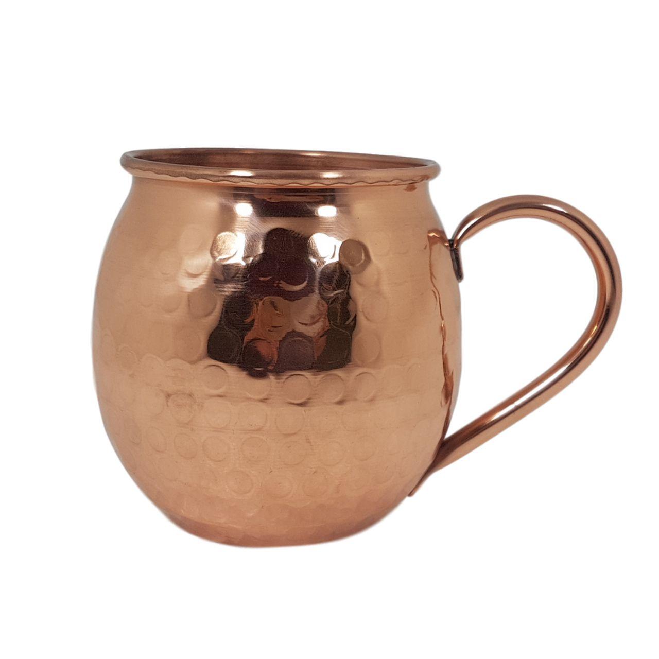 Caneca Barril De Cobre Original Moscow Mule