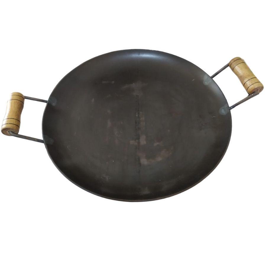 Disco Chapa Bifeteira Redonda De Ferro Fundido 40 cm de Diâmetro