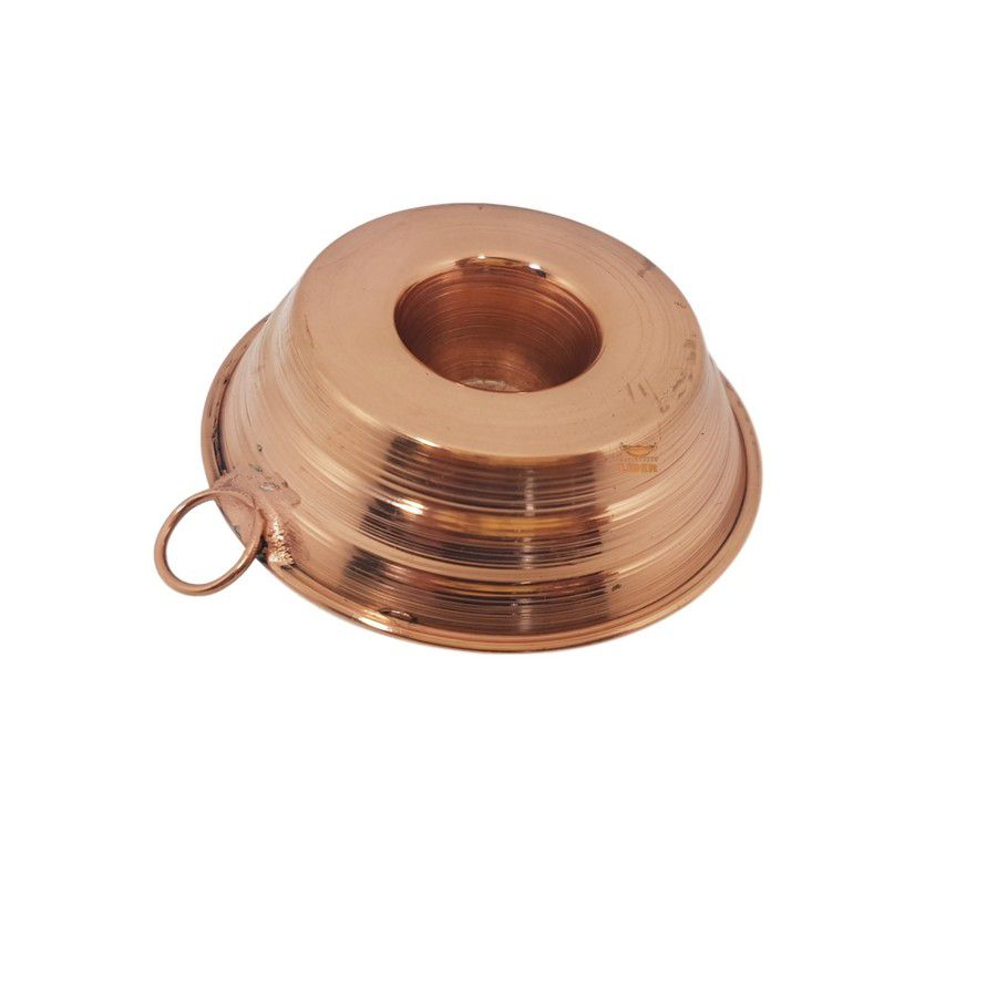 Forma de bolo em cobre miniatura