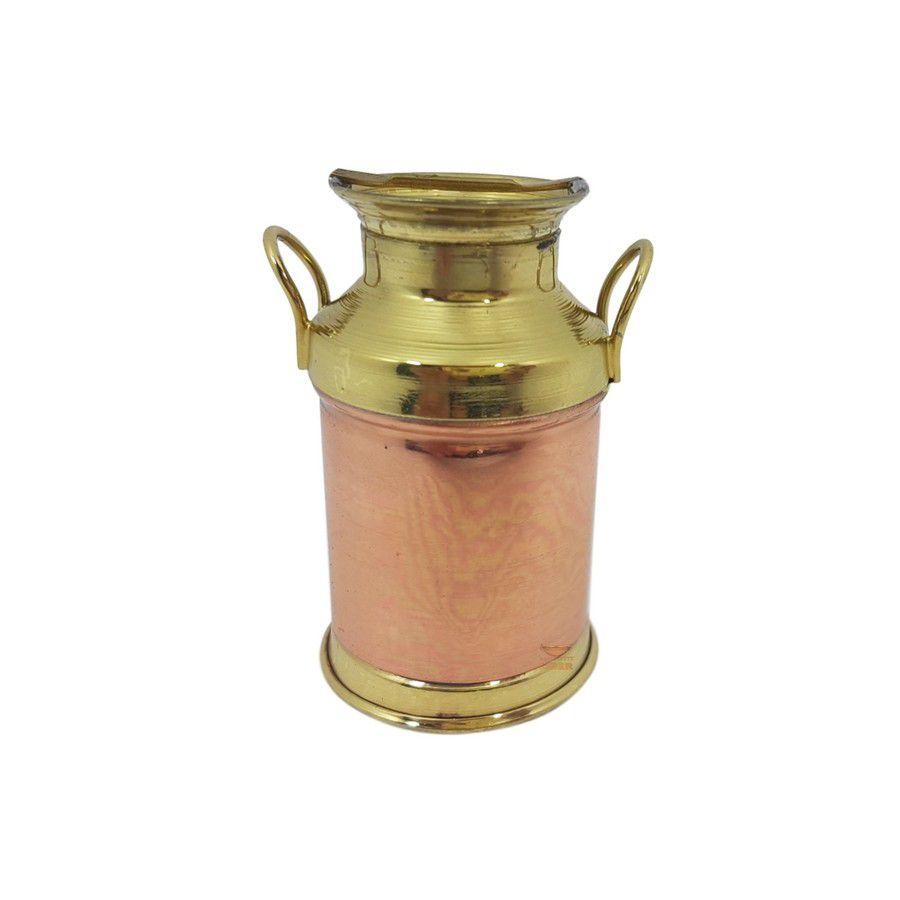 Leiteira em cobre miniatura