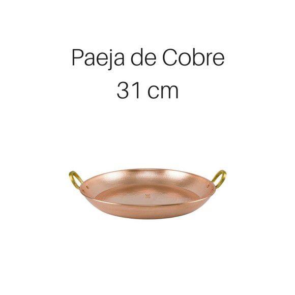 Paeja de cobre 31 cm de diâmetro