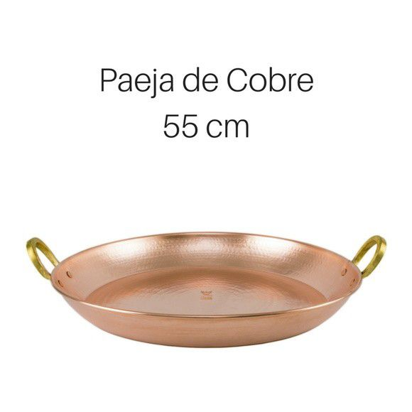 Paeja de cobre 55 cm de diâmetro
