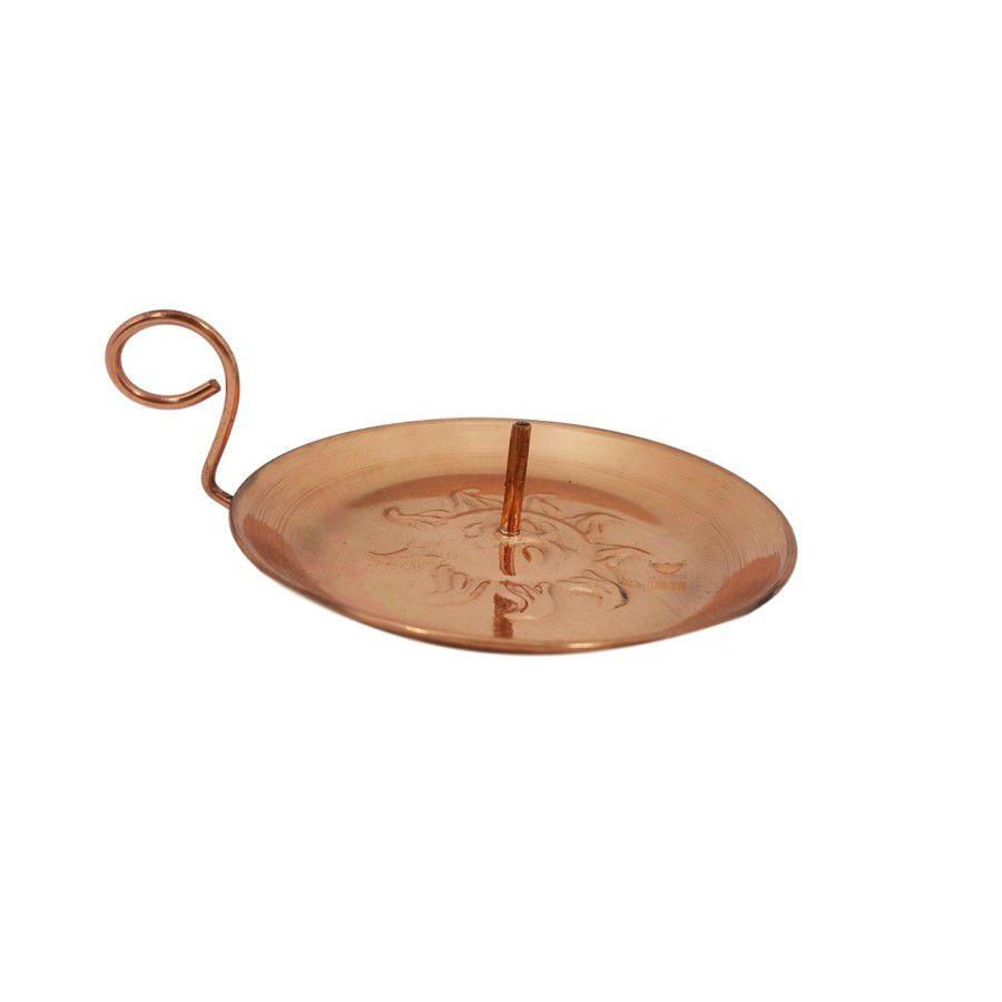 Porta incenso em cobre miniatura