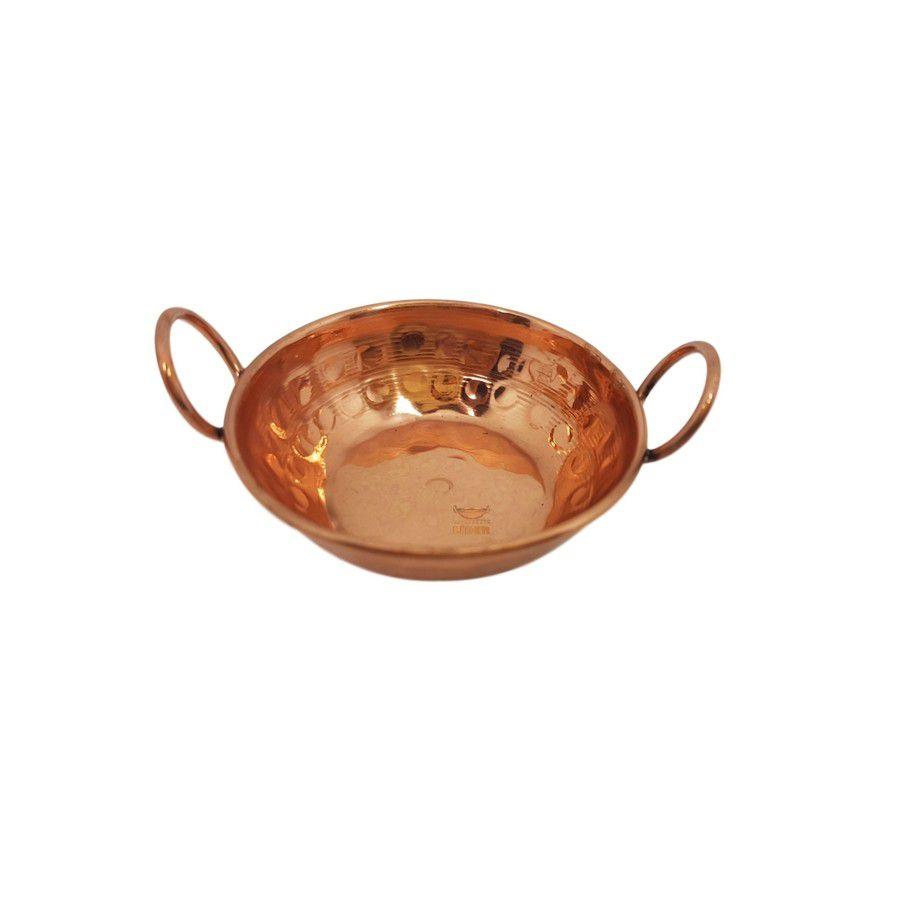 Tachinho em cobre 6 cm miniatura (Alças de Cobre)