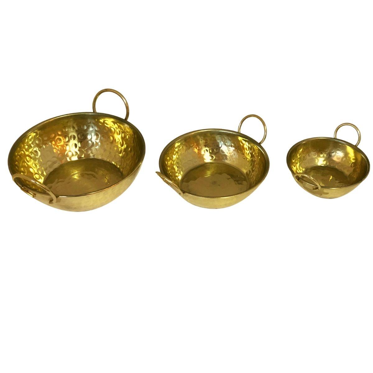 Trio de Tachinhos Dourado