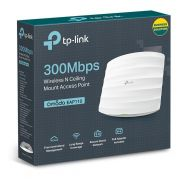 ACCESS POINT WIRELESS 300 Mbps POE EAP110 OMADA TP-LINK@