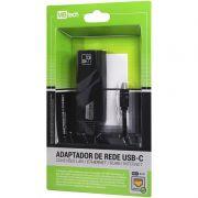ADAPTADOR DE REDE USB-C / RJ45 CONEXÕES LAN ETHERNET INTERNET(MB84240)
