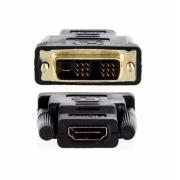 ADAPTADOR DVI - DVI 18+1 MACHO PARA HDMI FEMEA