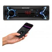 AUTORADIO POP BLUETOOTH MP3 4X25WRMS FM/SD/USB/AUX P3336 multilaser