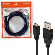 CABO USB 2.0 AM x MICRO USB 1,8m PC-USB1804 PLUS CABLE