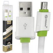 CABO USB V8 FLAT 2 METROS SHINKA SH-01-V8