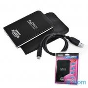 "CASE DE GAVETA USB 3.0 PARA HDD 2.5"" SATA SLIM EXTERNO CAPA EXBOM CGHD-30"